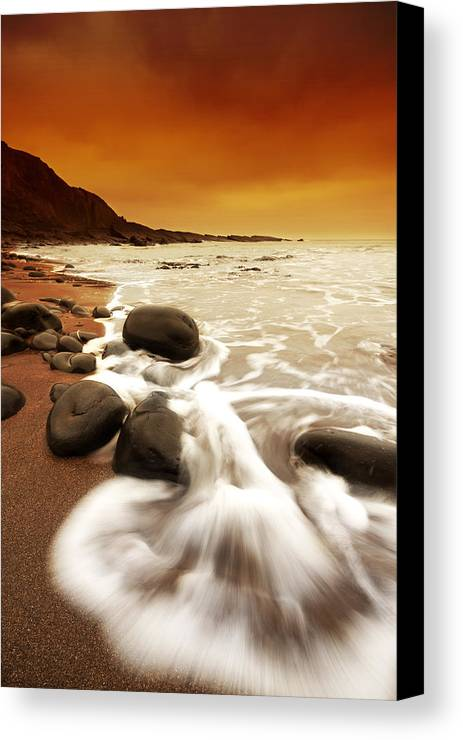Canvas Canvas Print featuring the photograph Morning Rush by Mark Leader