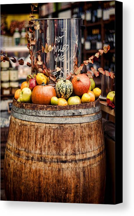 Mulled Wine Canvas Print featuring the photograph Mulled Wine by Heather Applegate