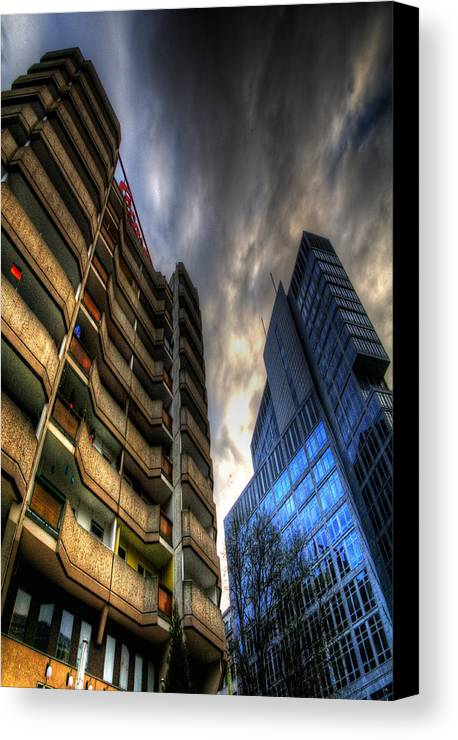Architecture Canvas Print featuring the photograph New And Old Living by Nathan Wright