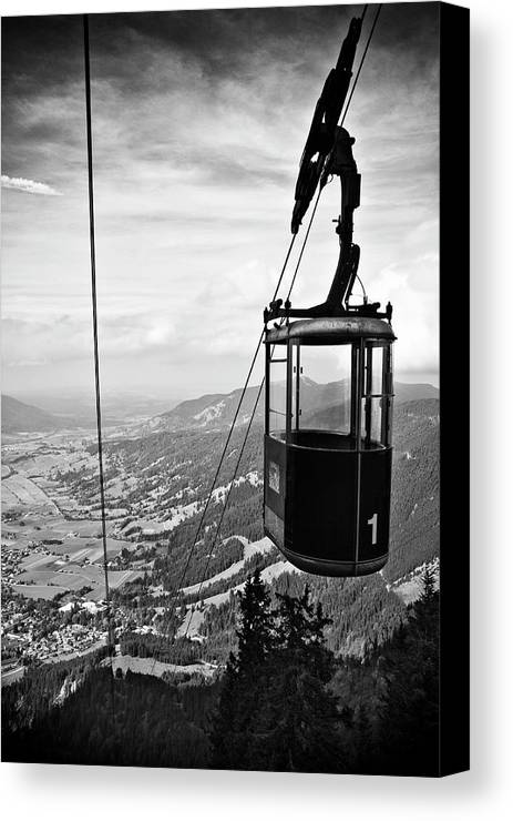 Vertical Canvas Print featuring the photograph No. 1 by Ati Sun Photography