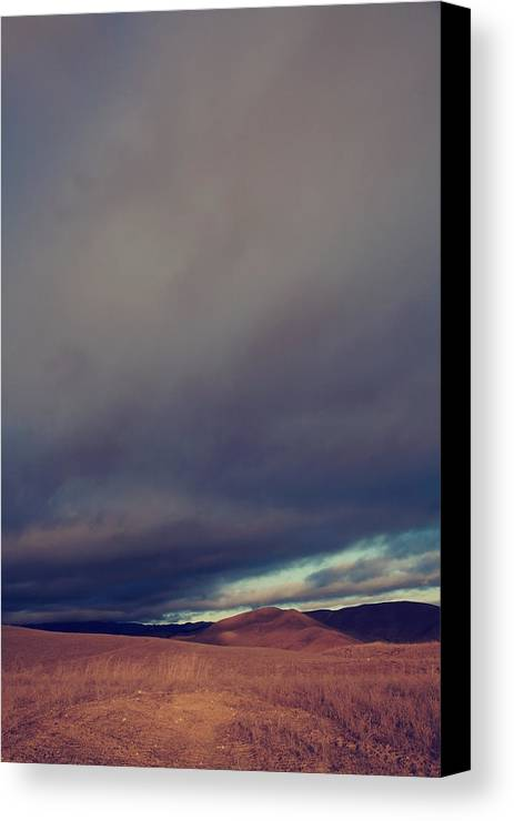 Sky Canvas Print featuring the photograph Passionate Souls by Laurie Search