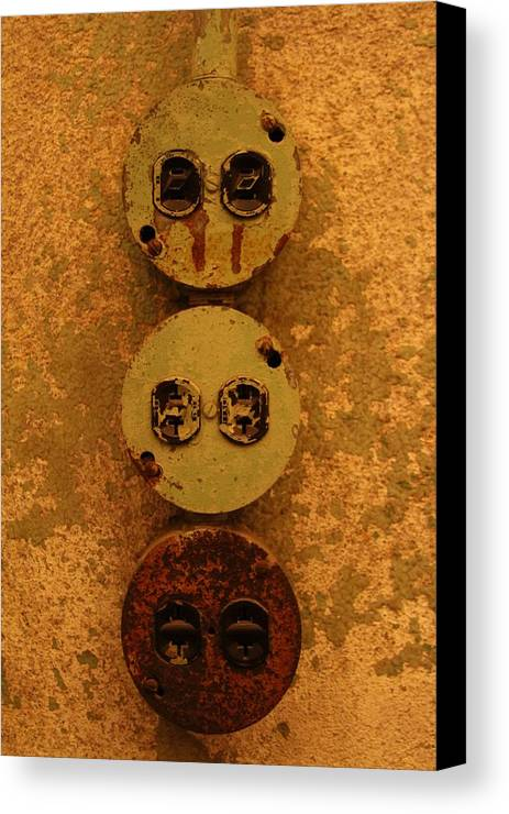 Canvas Print featuring the photograph Plug It In by Stephanie Ragazzo
