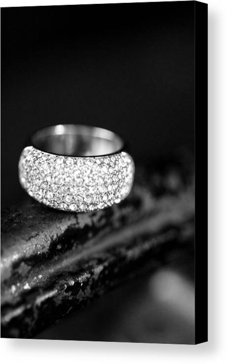 Rings Canvas Print featuring the photograph Ring Me In by Julie Thurgood