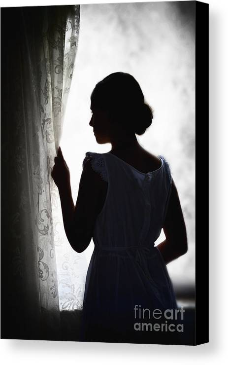 Woman Canvas Print featuring the photograph Simplicity by Margie Hurwich