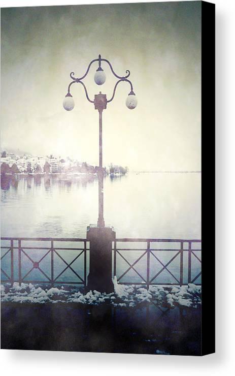 Lantern Canvas Print featuring the photograph Street Lamp by Joana Kruse