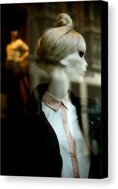 Jezcself Canvas Print featuring the photograph Sunny by Jez C Self
