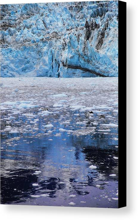 Alaska Canvas Print featuring the photograph Surprise Glacier by Rick Berk