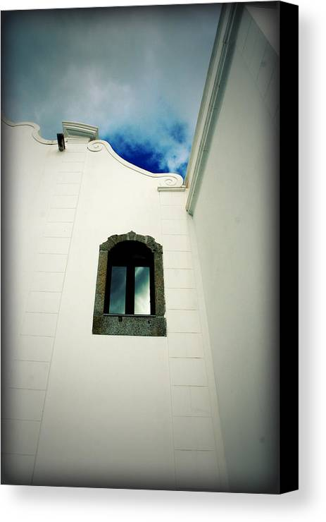 Lugares Canvas Print featuring the photograph The Monastery Window by Ricardo Quintas