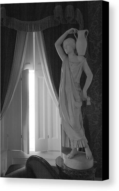 Architecture Canvas Print featuring the photograph The Parlor by Steven Ainsworth