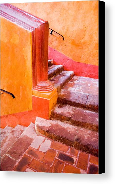 Architecture Canvas Print featuring the photograph Up Up And Away by Eggers Photography