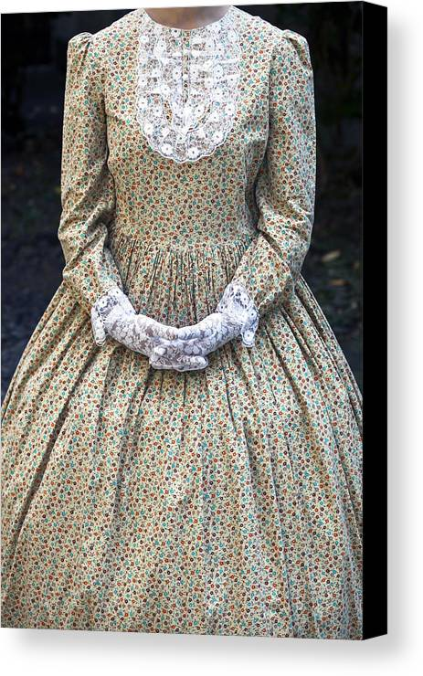 Female Canvas Print featuring the photograph Victorian Lady by Joana Kruse