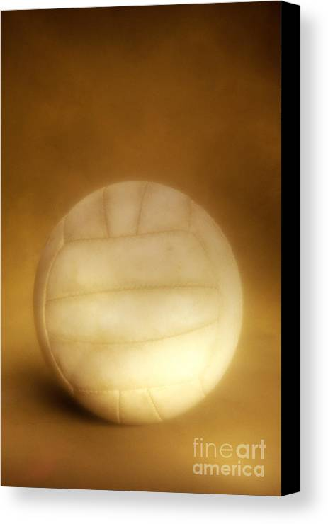 Compete Canvas Print featuring the photograph Vintage Soccer Ball by John Greim