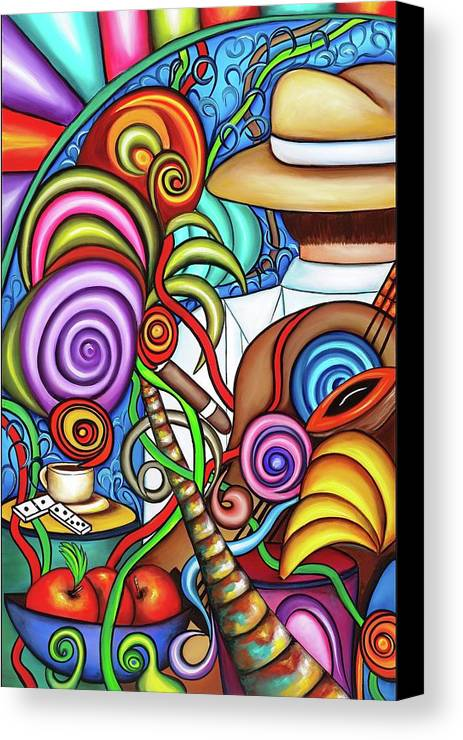 Cuba Canvas Print featuring the painting Always by Annie Maxwell