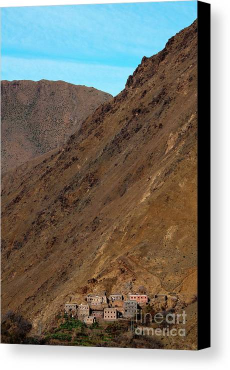 Morocco Canvas Print featuring the photograph High Atlas by Marion Galt