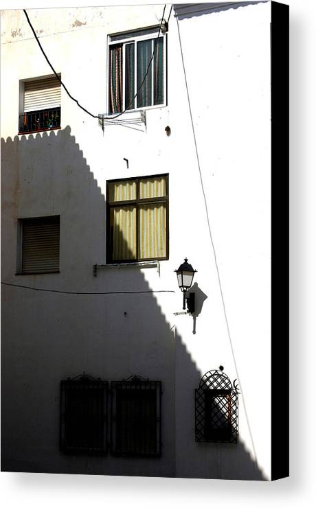 Photographer Canvas Print featuring the photograph Out Of The Shadows by Jez C Self
