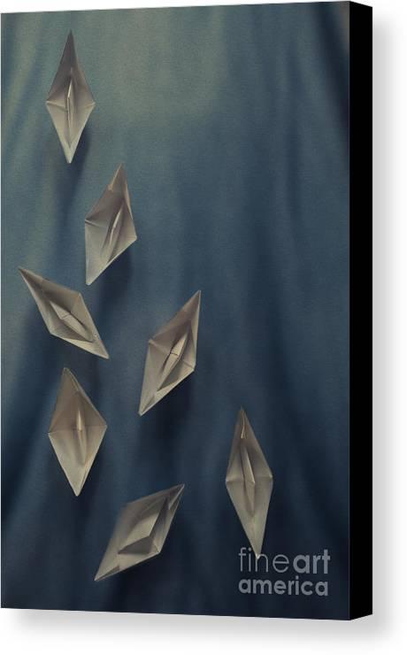 Paper Boats Canvas Print Canvas Art By Jelena Jovanovic