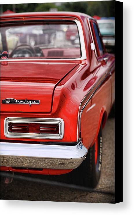 1963 Canvas Print featuring the photograph 1963 Dodge 426 Ramcharger Max Wedge by Gordon Dean II