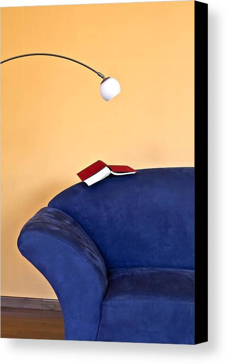 Apartment Canvas Print featuring the photograph Time To Read by Joana Kruse