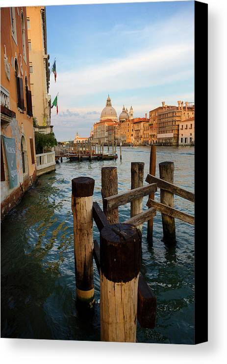 Venice Canvas Print featuring the photograph Grand Canal, Venice, Italy by Bruce Beck