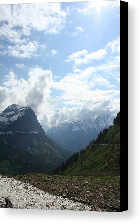 Landscape Canvas Print featuring the photograph A Bit Of Heaven by Rob Hoffman