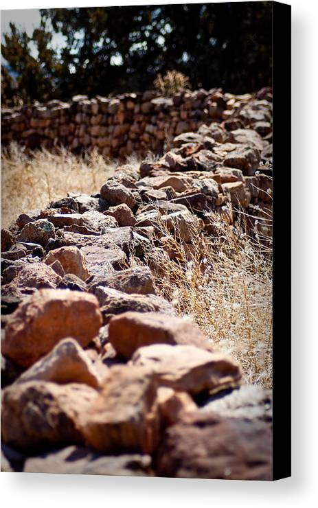 Landscape Canvas Print featuring the photograph A Living Past by Kandie Kingery