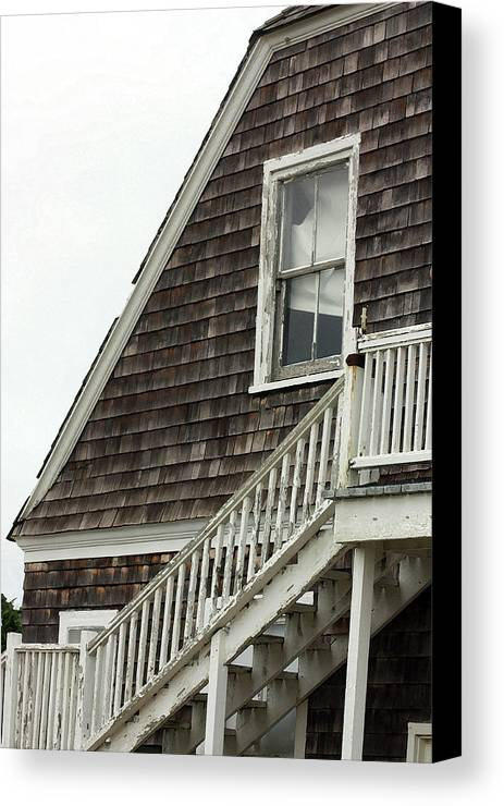 House Canvas Print featuring the photograph Abandoned by Mary Haber