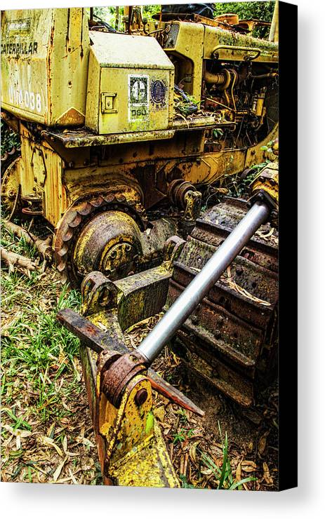 Thailand Canvas Print featuring the photograph Abandoned by Neil Pollick