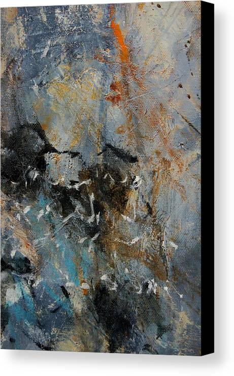 Abstract Canvas Print featuring the painting Abstract 4526987 by Pol Ledent