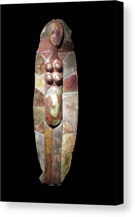 Giclee Print Canvas Print featuring the digital art Aktunowihio Print by Bates Clark