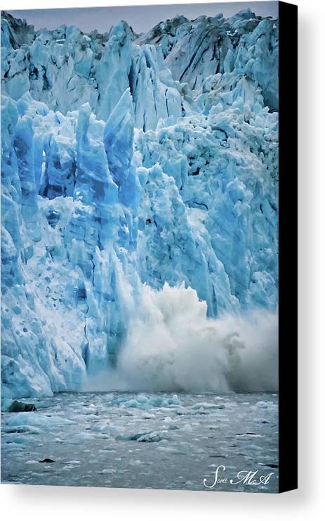 Alaska Canvas Print featuring the photograph Alaska 4021 by Scott McAllister
