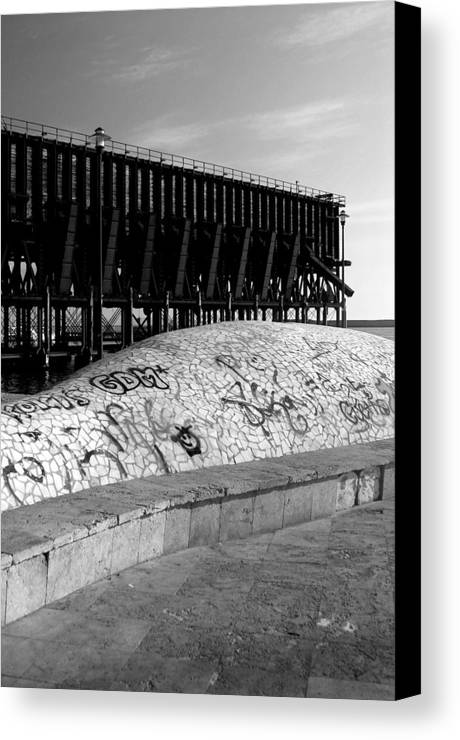 Photographer Canvas Print featuring the photograph Almeria 25 by Jez C Self
