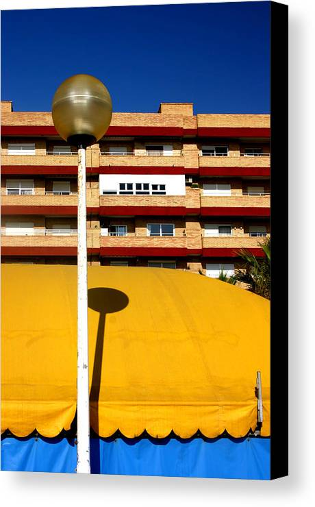 Photographer Canvas Print featuring the photograph Almeria 4 by Jez C Self