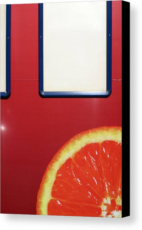 Jez C Self Canvas Print featuring the photograph Another Slice by Jez C Self