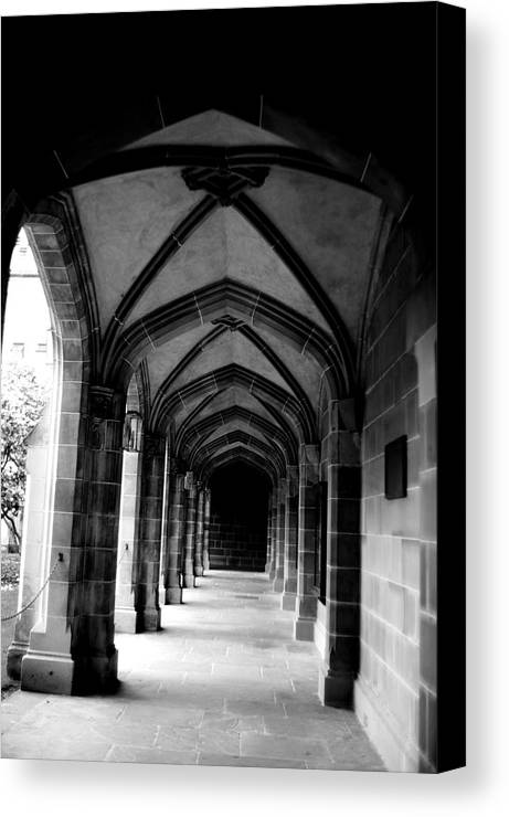 Arches Canvas Print featuring the photograph Arches by Win Naing