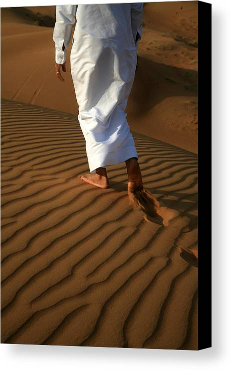Bedouin Canvas Print featuring the photograph Bedouin by Pauline Cutler