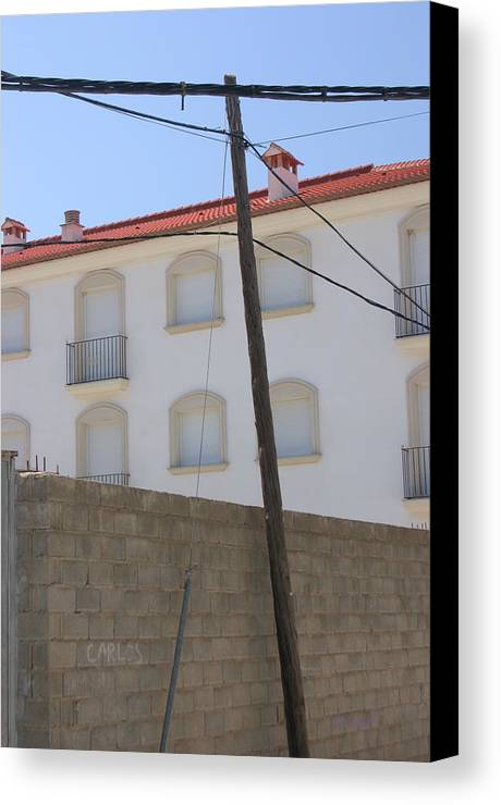 Photographer Canvas Print featuring the photograph Behind These Walls 2 by Jez C Self
