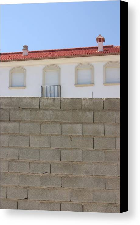 Photographer Canvas Print featuring the photograph Behind These Walls 3 by Jez C Self