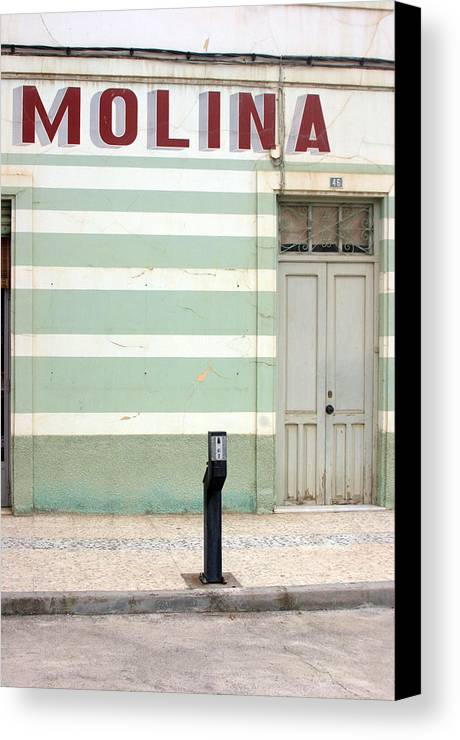 Photographer Canvas Print featuring the photograph Berja 11 by Jez C Self