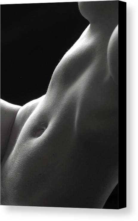 Bodyscape Canvas Print featuring the photograph Bodyscape 18 by Lucas James