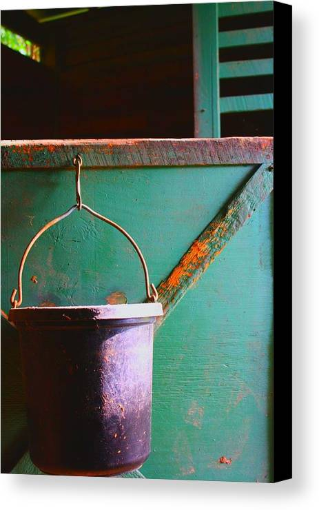 Barn Canvas Print featuring the photograph Breakfast by Jill Tennison