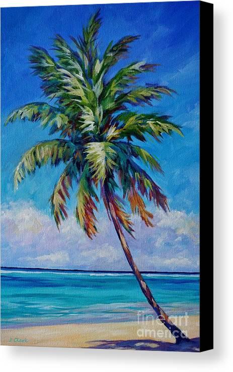 palm tree canvas print canvas art by john clark