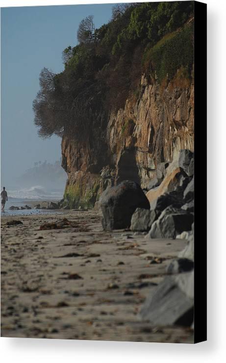 Beach Canvas Print featuring the photograph California Strollin' by Jean Booth