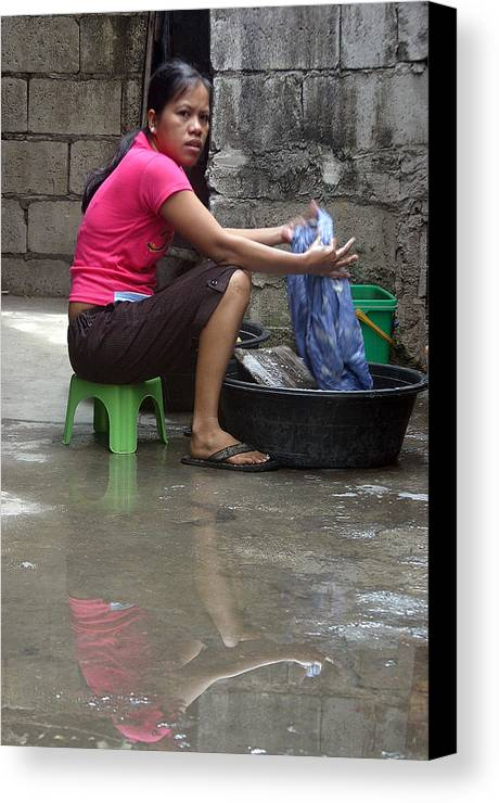 Photographer Canvas Print featuring the photograph Charito 2 by Jez C Self