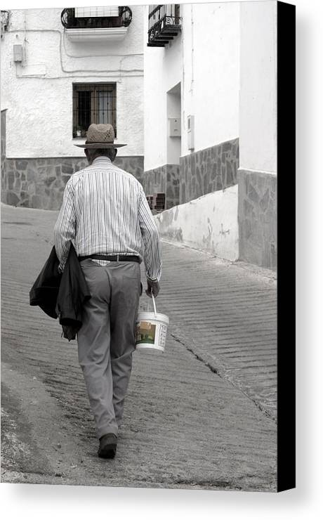 Photographer Canvas Print featuring the photograph Cherin 4 by Jez C Self