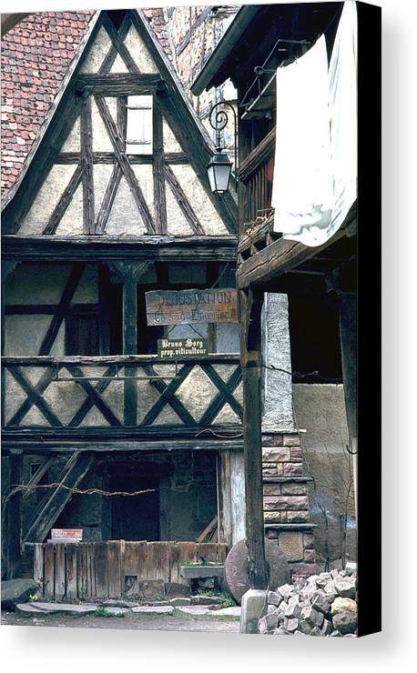 Colmar Canvas Print featuring the photograph Colmar by Flavia Westerwelle