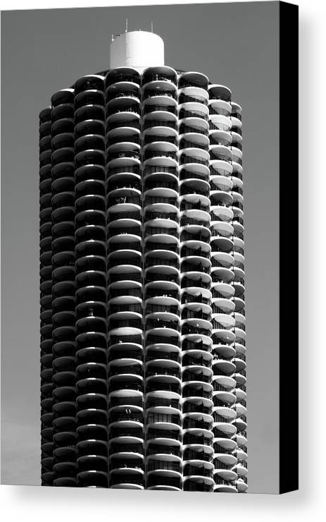 Chicago Canvas Print featuring the photograph Corn Cob by John Gusky