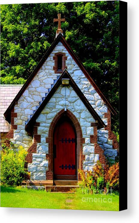 Church Canvas Print featuring the photograph Country Church by Debra Kaye McKrill