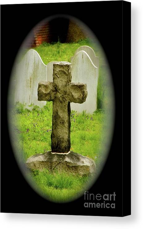 Cross Canvas Print featuring the photograph Cross by Rick Monyahan