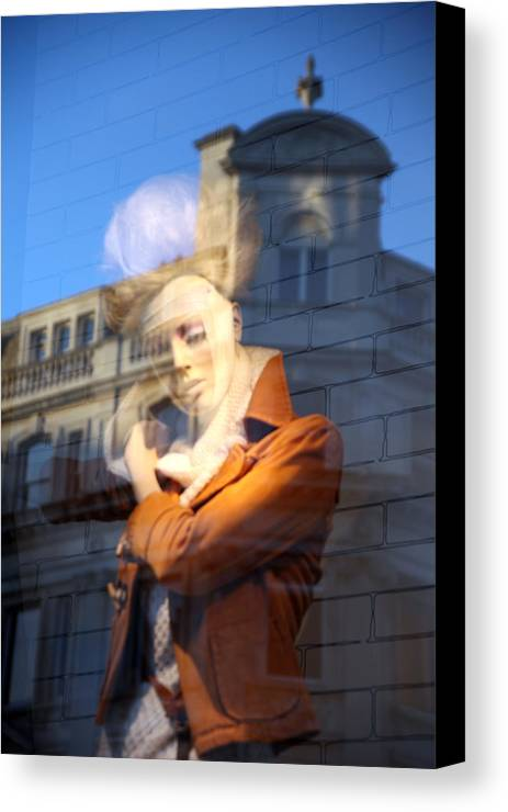 Canvas Print featuring the photograph Darcey's World 2 by Jez C Self