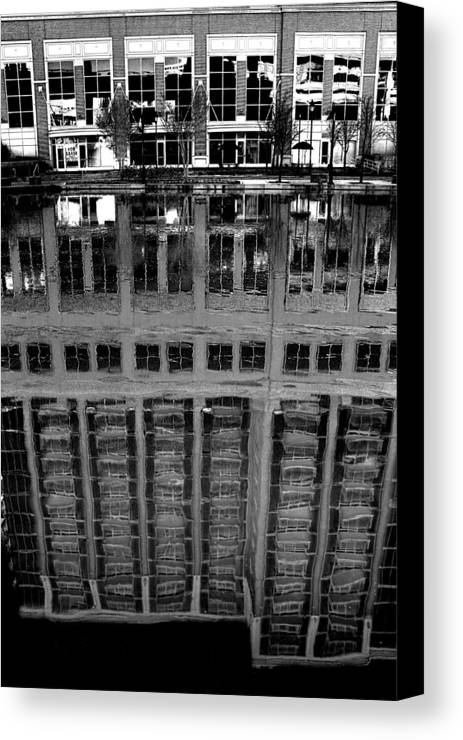 Reflection Canvas Print featuring the photograph Dark Reflection by Tim Wilson